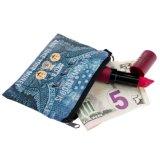 Funny Emoji impresiones mono Plaza Mini Coin Purse 3D de monedero monedero de la mujer Porte Monnaie lindo funda con cremallera pequeñas bolsas de las claves de la moda