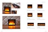 El mobiliario del hotel luz de LED eléctrica Chimenea Calefactor (A-801)