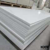 Surface solide acrylique pure blanche de glacier de Corian
