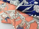 염색되는 100%년 레이온 비스코스 털실 직물 Lz7973 인쇄