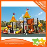 Trasparenza esterna dei giocattoli dei bambini del parco di divertimenti di ampia serie del castello per i capretti