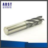 Bom fornecer o cortador de trituração do carboneto de tungstênio de 4 flautas para as peças da máquina