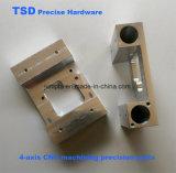 4-Axis CNC che lavora, viti di metallo su ordinazione dell'acciaio inossidabile di CNC, pezzi di precisione lavoranti di CNC, Accoppiamento-CNC pezzi meccanici, parti della strumentazione di automazione di CNC