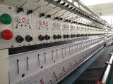 34 Kopf computergesteuerte Hochgeschwindigkeitssteppenund Stickerei-Maschine mit doppelten Rollen