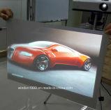 ショッピングWindows、3Dホログラフィック表示のための灰色、明確で、黒く、白いホログラフィックフィルム