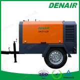 290 Cfm 디젤 기관 2개의 바퀴에 움직일 수 있는 이동할 수 있는 휴대용 공기 압축기