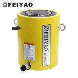 Cilindro idraulico industriale a semplice effetto di alto tonnellaggio di rendimento elevato per alzare
