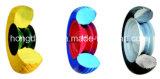 Колеса PU для колеса тележки пляжа бегового колеса PU вагонетки 4.00-6 руки плоского