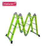 Китай 4*6 шагов петли Двусторонняя Лестницы алюминиевые лестницы консистентной смазкой