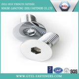 Нержавеющая сталь 304 винта полусферической шляпки гнезда шестиугольника ISO7380