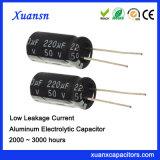 50V de Lage Elektrolytische Condensatoren van de Lekkage 220UF