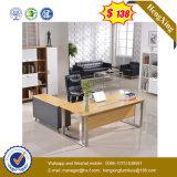Squre 금속 관 다리 MDF 나무로 되는 테이블 사무실 책상 (UL-MFC364)