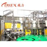 Máquina de rellenar líquida de la cerveza de la botella de cristal