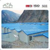 Camera prefabbricata economica del tetto piano per il dormitorio/l'accampamento/ufficio e banco dell'operaio