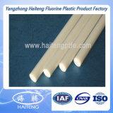 PTFE branco Rod com resistência de desgaste elevada