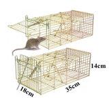 Клетка ловушки гуманной Multi мыши металла ячеистой сети задвижки животная