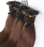 Uitbreiding van het Haar van het Uiteinde van 20 Duim van het Menselijke Haar van Remy de Braziliaanse Bruine Vlakke