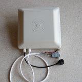 駐車場のための長距離カードRFID UHF RS232 RJ45 Poe WiFiインターフェイスゲートの読取装置