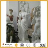 Shanxi 까만 절대적인 까만 화강암 동상, 화강암 조각품, 돌 정원 동상