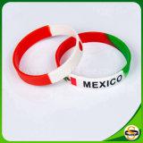 Bracelet en caoutchouc de silicones de cadeau de Noël pour le sport