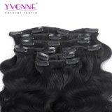 Clip umana del corpo di alta qualità di Yvonne del Virgin brasiliano dell'onda nell'estensione dei capelli