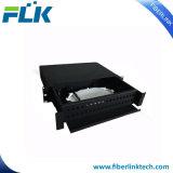Tableau de connexions de fibre optique d'adaptateur de Sc de 36 ports pour la télécommunication
