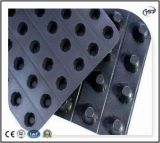 Scheda impermeabile di drenaggio della fossetta della fossetta Drainboard/HDPE