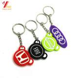 カスタムおかしくかわいいデザイン一致のカップルゴム製Keychains (YB-K-008)