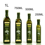 Obscuridade quente do frasco de vidro de petróleo verde-oliva da venda - frasco de vidro 500ml do petróleo verde