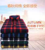 Camisas informales Slim Fit 100% algodón camisetas de vestimenta casual