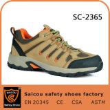 Form-stilvolle sportive wandernde Sicherheits-Stahlzehe-Schuhe für Arbeit Sc-2365