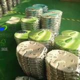 Sanitarios Inodoro MDF Impreso redonda con bisagras de plástico