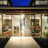 알루미늄 Frameless 상업적인 자동적인 유리 미닫이 문