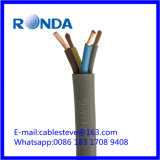 Гибкий ПВХ электрический провод кабель 4X6 sqmm