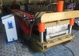 Roulis de feuille de toit de blocage de 460 individus formant la machine