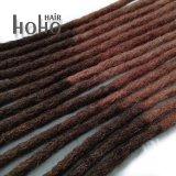 Capelli umani Ombre Crochet crespo Dreadlocks di Afro di 16 pollici