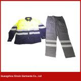 カスタムロゴ作業摩耗セット男女兼用作業衣類の安い働きの摩耗の救命胴衣(W35)