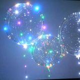 새해 동안 밤 훈장 18inches 풍선 끈 빛