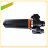 Filtro de arena del sistema de filtración de agua de riego por goteo micrones filtro de placa de disco de lavado automático