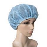 Protezione Bouffant a gettare non tessuta, protezione rotonda a gettare, protezione chirurgica