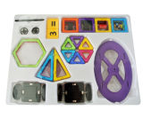 72PCS edifício bricolage ímãs construção magnético de tijolo brinquedos brinquedos para crianças