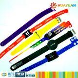 RFID Ntag216 Waterproof Wristband Bracelet per Sports Center