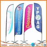 Дешевые Съемный цифровой печати ветер пуховые флаги