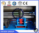 W11S-20X2500 3 Universal y de flexión de rodillo Máquina laminadora