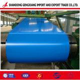 Синий Prepainted оцинкованной стали с полимерным покрытием гофрированный листа крыши