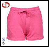 Shorts del sudore delle nuove di stile donne poco costose all'ingrosso dello spazio in bianco