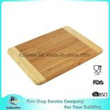 Placa de bambu do bambu da placa de desbastamento da placa de estaca do FDA LFGB