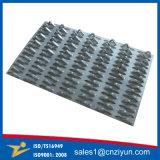 Los conectores de clavo de acero galvanizado pista
