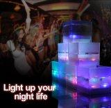 Het promotie Kleurrijke Licht van Liquip van de Gift op Koppen voor de Vierkante LEIDENE van DJ van de Staaf van de Partij KTV Kop van Japan Masu