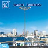 25m de alto mástil de la torre de iluminación